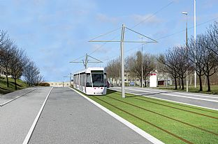 EIA report for Aarhus Light Rail Line. C.F. Møller. Photo: C.F. Møller