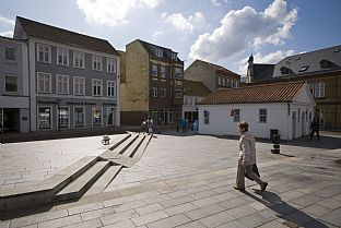 Gravene Square Haderslev. C.F. Møller. Photo: Julian Weyer