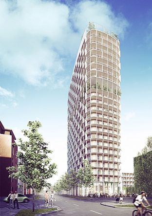 Hybrid Tower . C.F. Møller