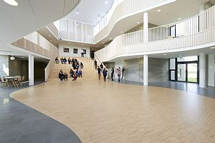 International School Ikast-Brande. C.F. Møller. Photo: Martin Schubert