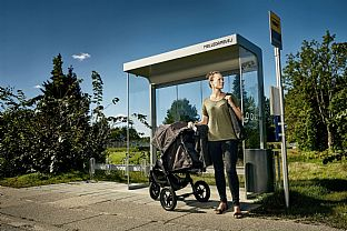 NT Bus Stop Concept. C.F. Møller. Photo: NT