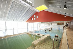 New life for old swimming baths: Ringkøbing Swimming Centre. C.F. Møller. Photo: Martin Schubert