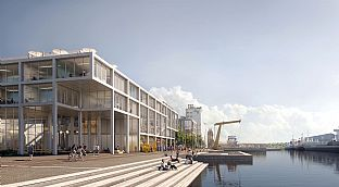 Nya SIMAC. C.F. Møller. Photo: C.F. Møller Architects and EFFEKT