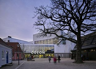 Odeon Music and Theatre Hall. C.F. Møller. Photo: Kirstine Mengel