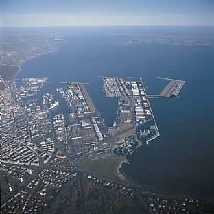 Port of Aarhus, masterplan. C.F. Møller. Photo: C.F. Møller