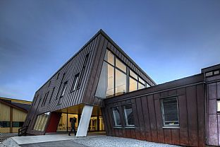 Queen Ingrid's Hospital, National Hospital of Greenland, Nuuk. C.F. Møller. Photo: MEW