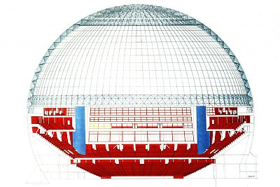 Stockholm Globe Arena Projects C F M 248 Ller