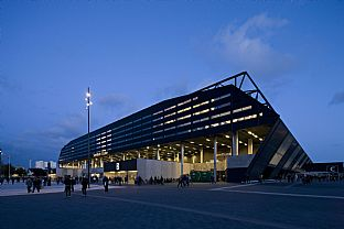 Swedbank Stadium. C.F. Møller. Photo: Torben Eskerod