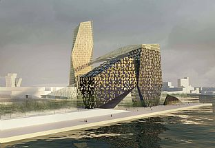 The LM Project – The Mermaid Tower and the Rock. C.F. Møller
