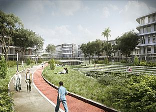 Woodlands Integrated Healthcare Campus (Singapore). C.F. Møller